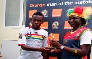 CAN 2015/Guinée-Côte d'Ivoire : Ibrahima Traoré élu l'homme du match