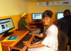 MTN Guinée offre un cyber école à l'ISFAD de Kankan