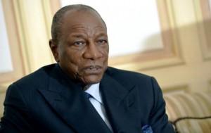 Alpha Condé: «L'avocat de Moussa Dadis Camara est libre de porter plainte»