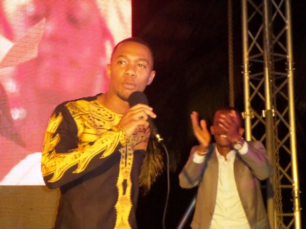 Alpha Baba, le fils de Bambino Diabaté, présente son nouveau clip vidéo « Anato » à Conakry