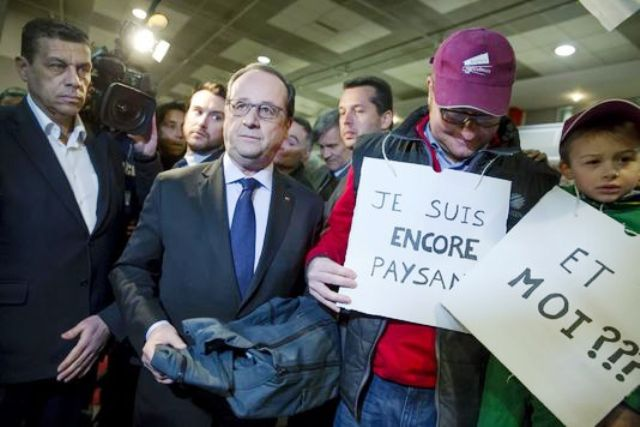 France fran ois hollande hu et insult au salon de l for Hollande salon agriculture