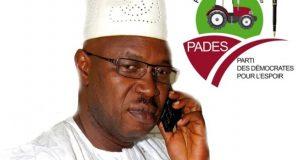 Après PLUS, Ousmane Kaba crée un nouveau parti politique dénommé PADÈS