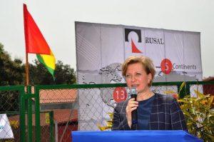En Guinée, l'hôpital de RUSAL a servi de base pour installer un laboratoire unique de recherche scientifique destiné à la lutte contre les infections dangereuses