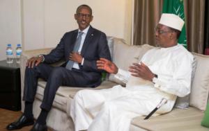 Paul Kagamé et Idriss Deby attendus à Conakry pour des consultations