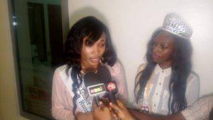 Conakry Capitale Mondiale du Livre : Mlle Fatoumata Camara, la première dauphine de Miss Guinée Amérique du Nord est arrivée à Conakry