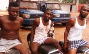 Kankan : Trois voleurs de motos arrêtés par des militaires du camp Soundjata Kéita