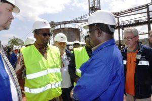 Usine d'alumine de Friguia : Le Ministre des Mines félicite Rusal pour le niveau d'avancement des travaux de réhabilitation