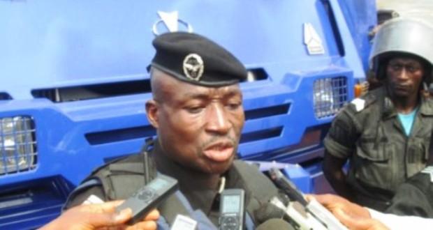 Le lieutenant-colonel Ansoumane Camara alias Baffoe, commandant de la CMIS.