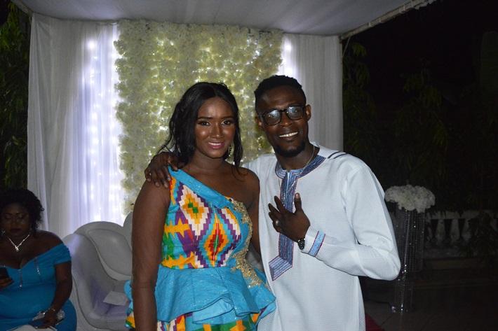"""Résultat de recherche d'images pour """"image du mariage du footballeur ghanéen gershon koffie"""""""